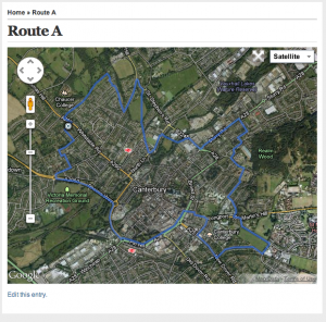 Read more about the article Training Routes