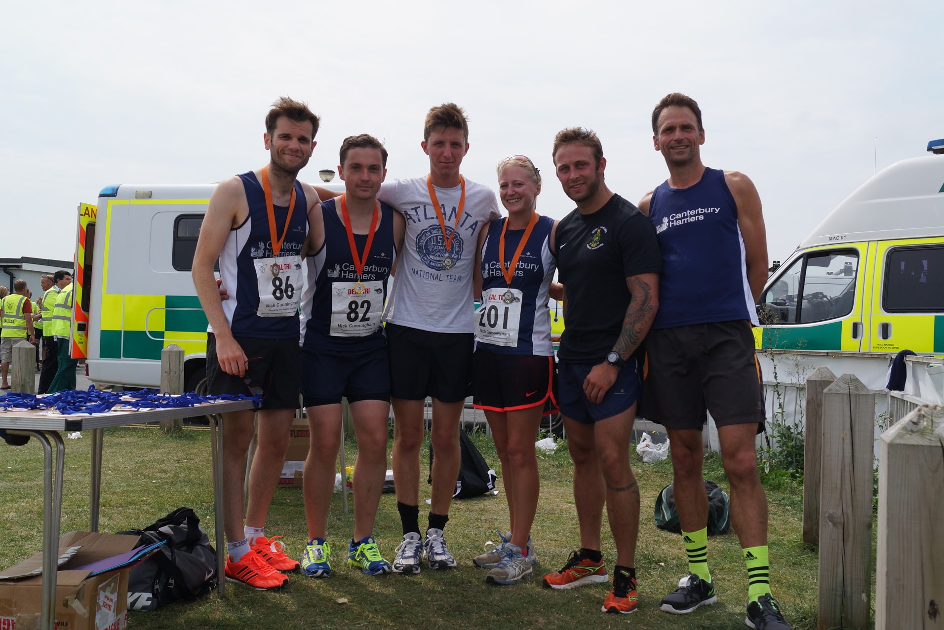 You are currently viewing First Position and Team Prize for the Harriers!