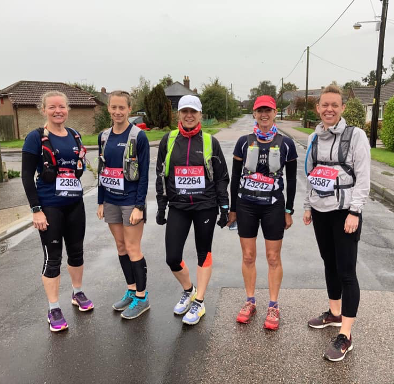 You are currently viewing Team of Five Runs Virtual London Marathon – Chairwoman's First Marathon Distance